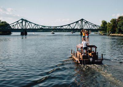 Floßfahrt auf der Havel